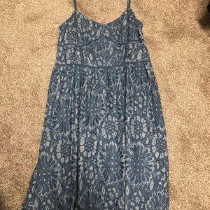 Like new Ann Taylor LOFT blue dress